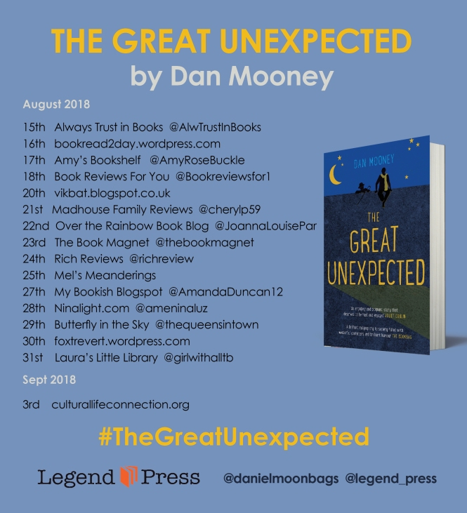 The Great Unexpected Tour Banner