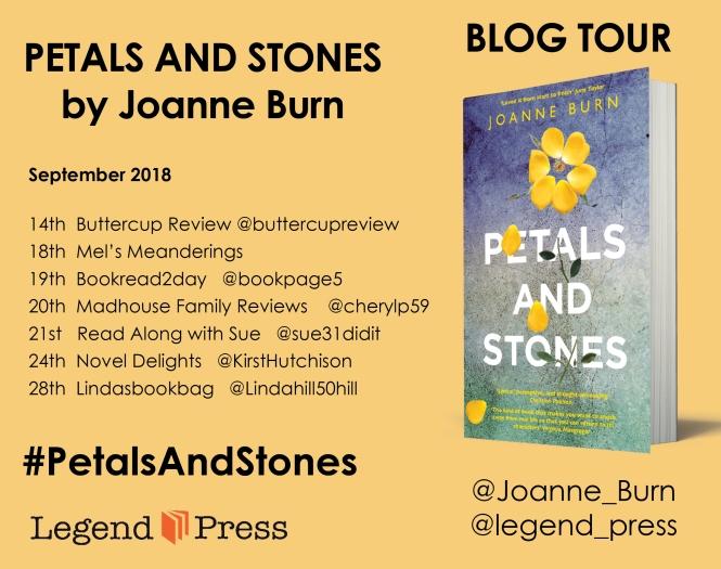 Petals and Stones Blog Tour Banner
